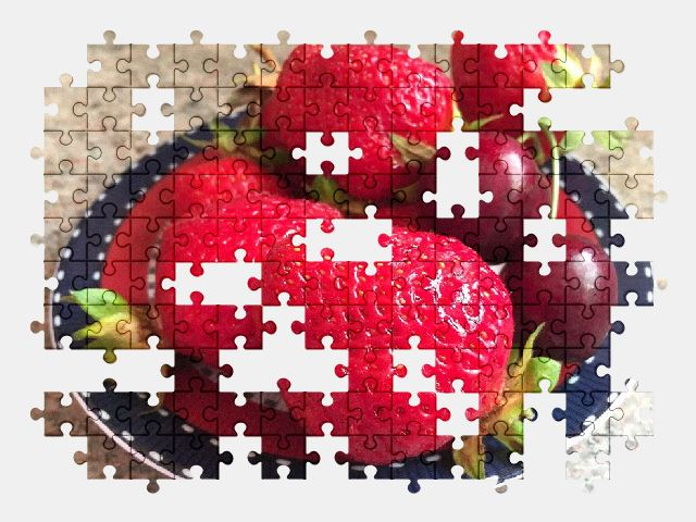 free jigsaw puzzle online fruit,strawberry,food