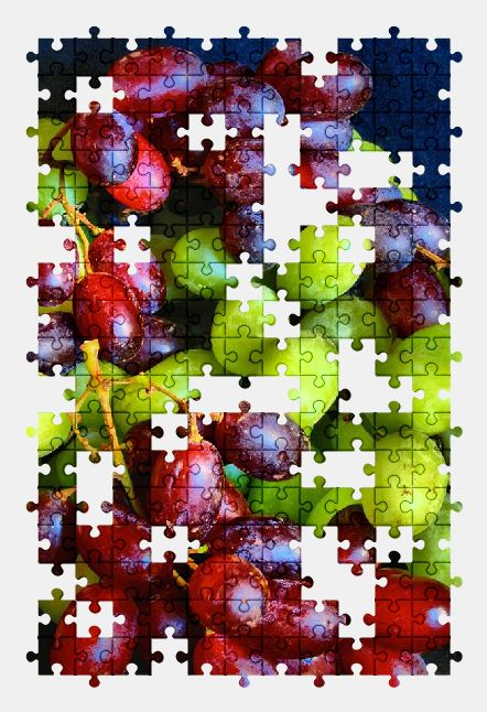 free jigsaw puzzle online grapes,food,fruit