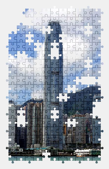 free jigsaw puzzle online hong-kong,china,asia,city,buildings,building