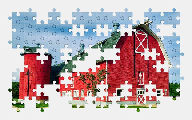 Indiana Barn Free Jigsaw Puzzles Online
