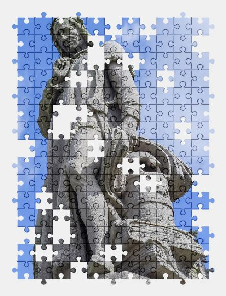 free jigsaw puzzle online statue,monument