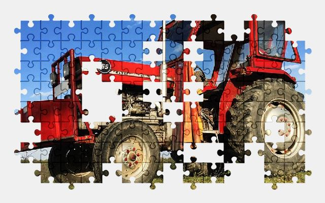free jigsaw puzzle online tractor,vehicle