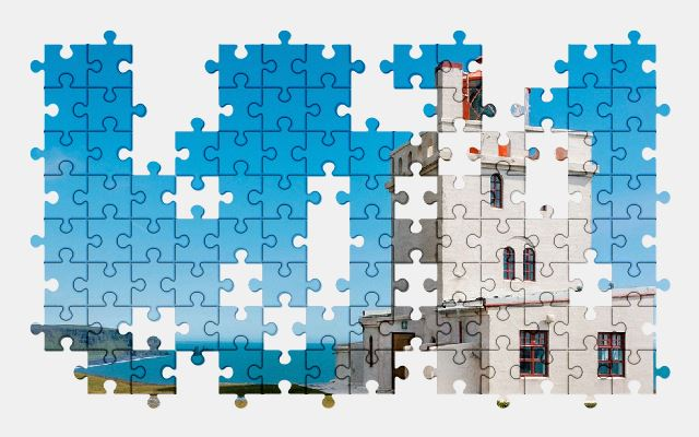 free jigsaw puzzle online lighthouse,iceland,coast,beach,nature,water