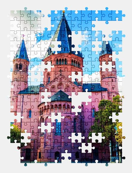 free jigsaw puzzle online cathedral,church,architecture,building,sky