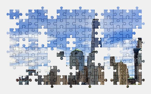 free jigsaw puzzle online manhattan,city,building
