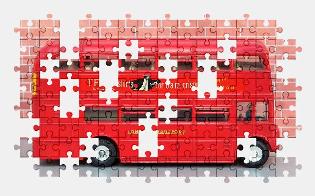 free jigsaw puzzle online bus,london,vehicle