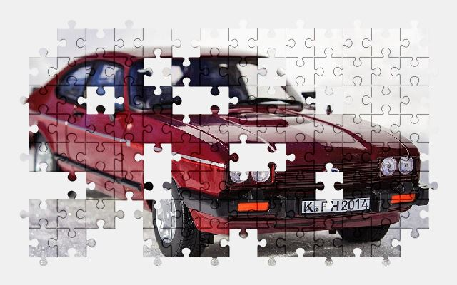 free jigsaw puzzle online model,ford,auto,oldtimer,snow,car,automobile