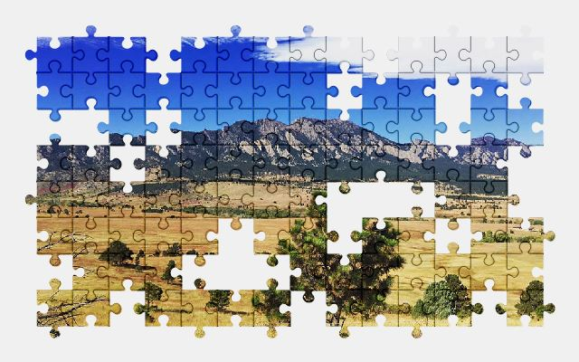 free jigsaw puzzle online mountains,landscape,sky,clouds,nature