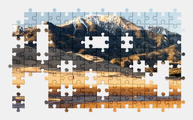 free jigsaw puzzle online mountains,snow,travel,tourism,nature,landscape