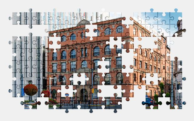 free jigsaw puzzle online building,shanghai,china,architecture,historic