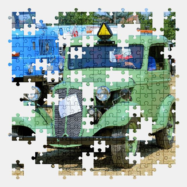 free jigsaw puzzle online car,retro,auto,old