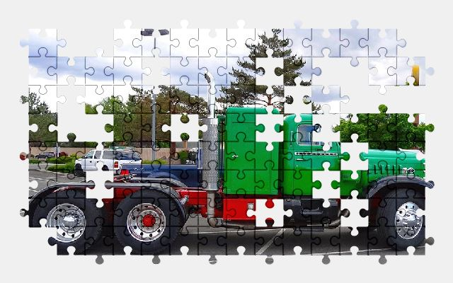 free jigsaw puzzle online truck,vehicle