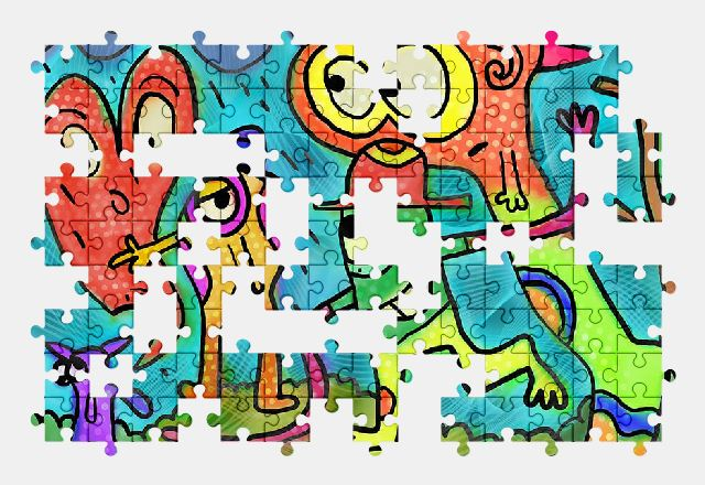 free jigsaw puzzle online painting,cartoon,doodle,art