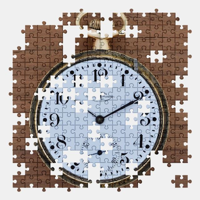 free jigsaw puzzle online clock,time