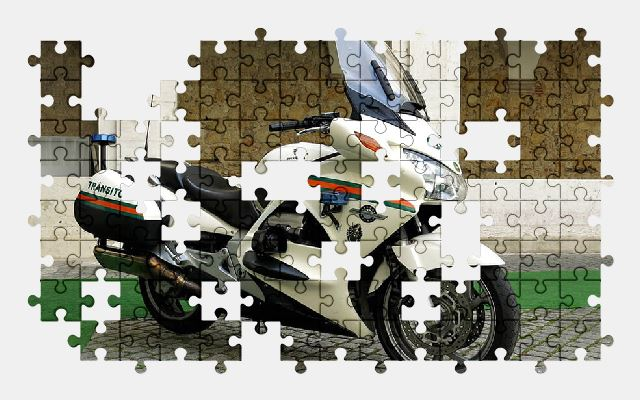 free jigsaw puzzle online police,motorcycle,portugal,lisbon