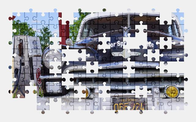 free jigsaw puzzle online usa,police,car,utah,old