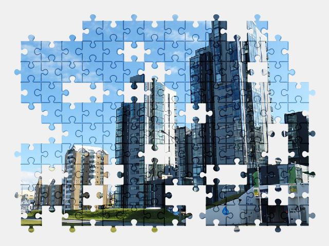 free jigsaw puzzle online architecture,city,iceland