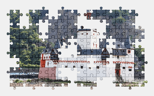 free jigsaw puzzle online castle,architecture,germany,building