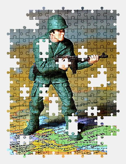 free jigsaw puzzle online soldier,map,army,military,toy