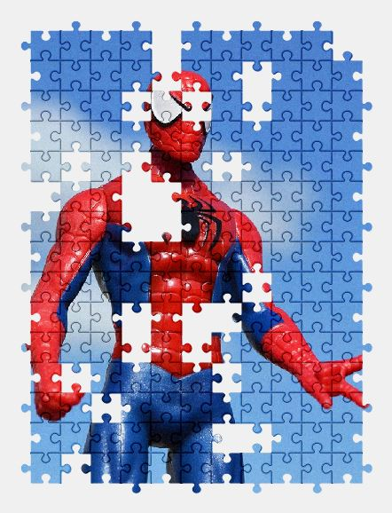 free jigsaw puzzle online spiderman,superhero,hero,toy