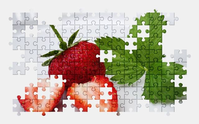 free jigsaw puzzle online strawberries,fruit,food