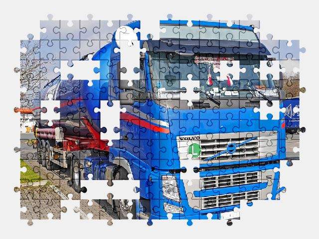free jigsaw puzzle online truck,volvo,vehicle