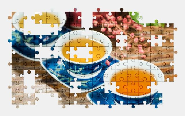 free jigsaw puzzle online tea