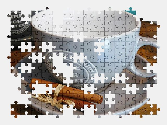 free jigsaw puzzle online teacup,coffee,cafe