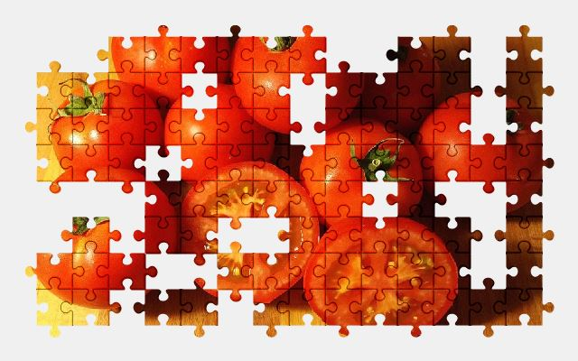 free jigsaw puzzle online tomatoes,food,vegetable