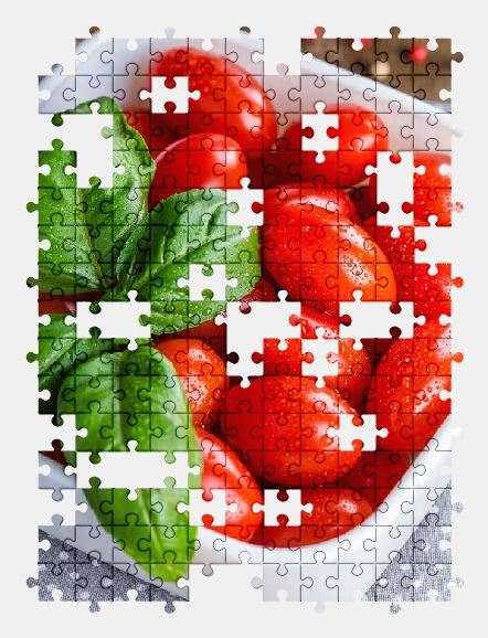 free jigsaw puzzle online tomatoes,vegetable,food,red,cherry