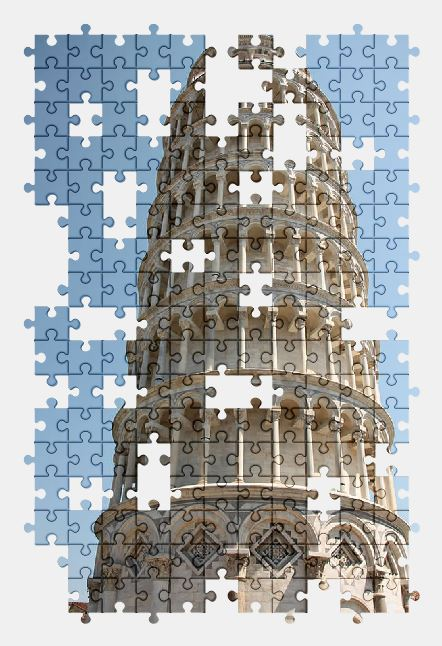 free jigsaw puzzle online tower,pisa,statue,monument,italy