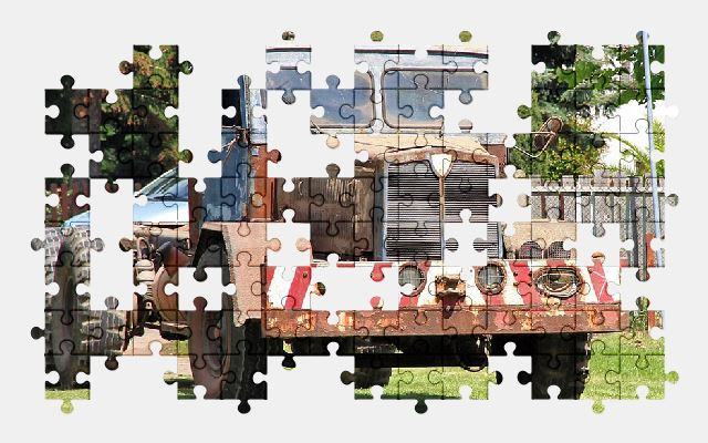 free jigsaw puzzle online truck,historically,germany,old,vehicle