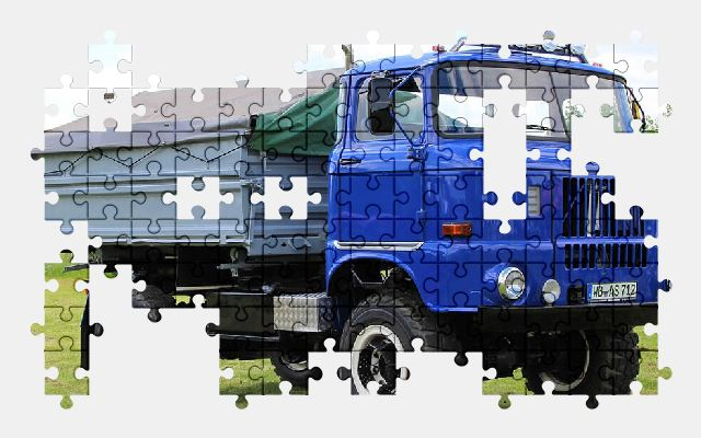 free jigsaw puzzle online truck,oldtimer,historically,vehicle