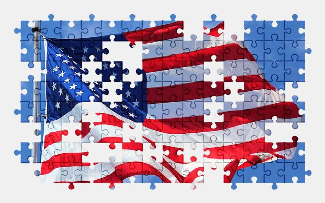 American Flag - Free Jigsaw Puzzles Online