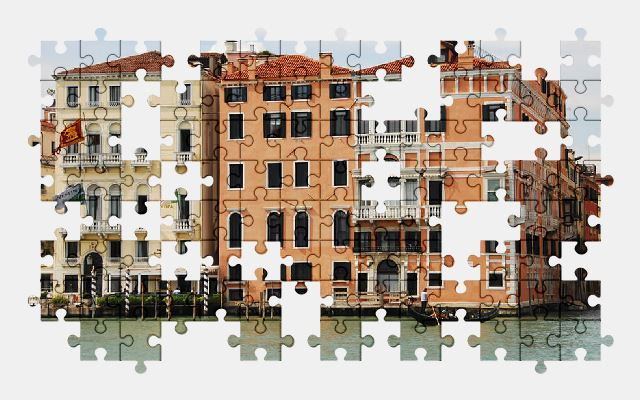 free jigsaw puzzle online venice,water,italy,city,buildings