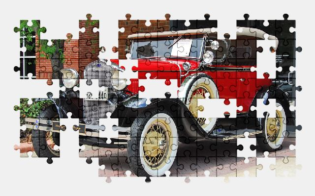 free jigsaw puzzle online vintage,car,classic,automobile,antique