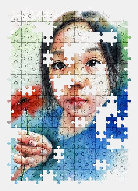 free jigsaw puzzle online children,portrait,girl