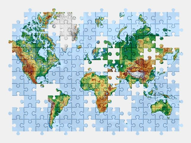 free jigsaw puzzle online map,earth
